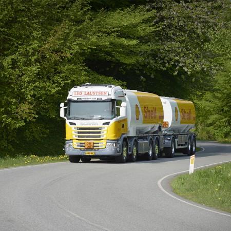 Fjellerad Transport, vognmand Leo Laustsen, Shell