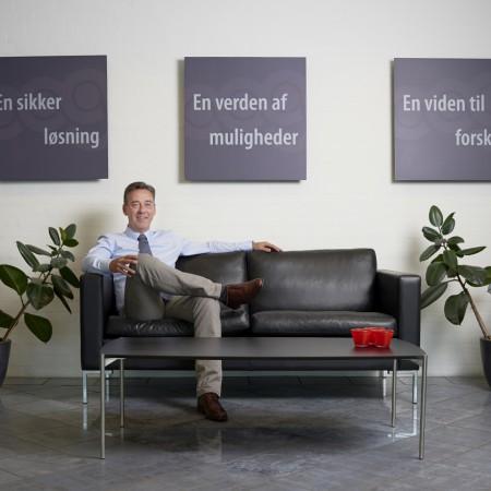 Virksomhedsprofil, profilbilleder, Aalborg Gummivarefabrik, AAG, direktør